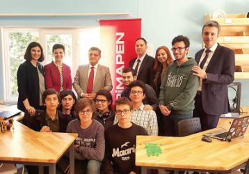Kadıköy Anadolu Lisesi Pimapen Maker Odası Açıldı.